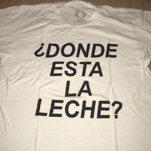 Donde Esta La Leche T Shirt S Size Small